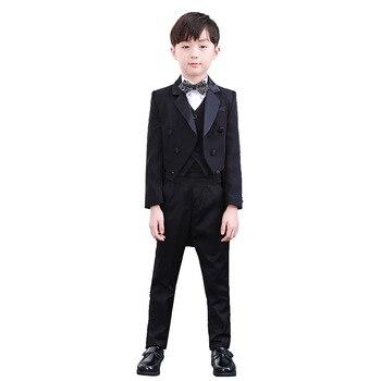 Kids Wedding Suit Sets For Flower Boys Child Formal Tuxedos Dress Outfits Boys Blazer Clothing Set M327