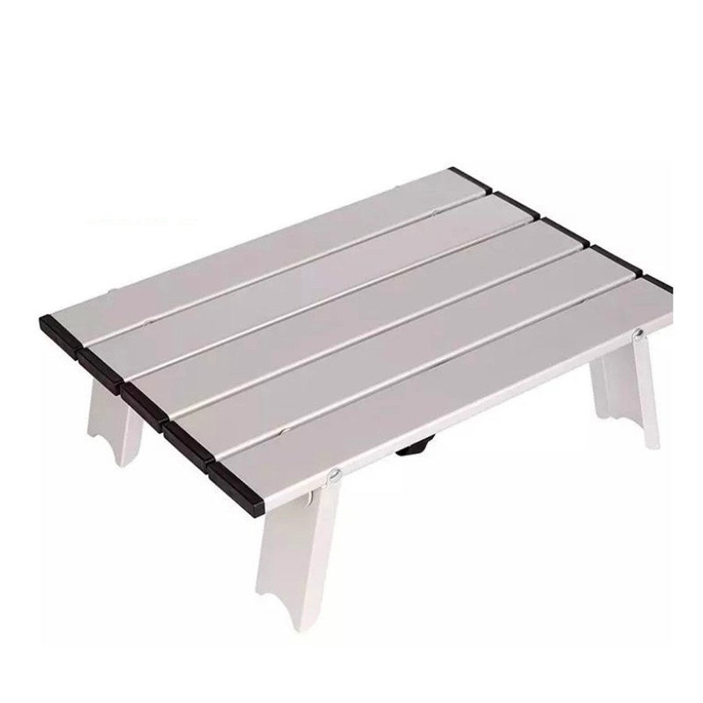 Portable Foldable Table Camping Outdoor Furniture Computer Bed Tables Picnic Light Aluminium Alloy Ultra Light Folding Desk