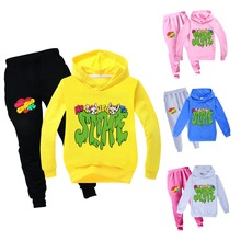 Tracksuit Children Hoodie Outfits Spring Toddler Baby-Girls Autumn Kids Boys Contro 2pcs