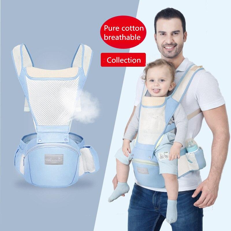 Multifunction Breathable Ergonomic Baby Carrier Backpack Sling Wrap Toddler Carrying Baby Holder Belt Kangaroo Bag For Travel