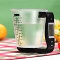 Elektronische Messbecher Küche Waagen Digitale Becher Host Wiegen Temperatur Messung Tassen Mit LCD Display