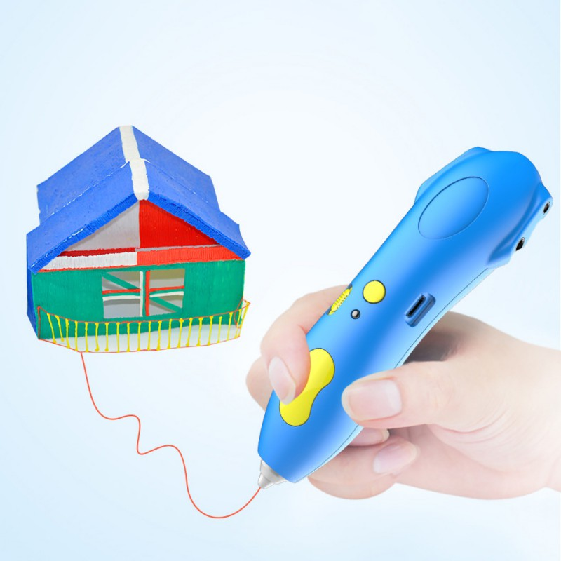 3D Printing Pen Safe Low Temperature PCL Filament Kid Adult Doodle Printer Pen
