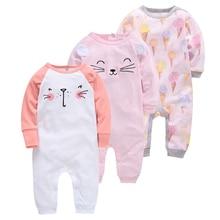 3pcs Girl Boy Pijamas bebe fille Cotton Breathable Soft ropa bebe Newborn Sleepers Baby Pjiamas