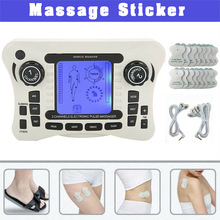 Home Jr309 Body Massager With 8 Pairs Patch Set Body Massage Stickers Relieve So