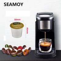 Mini máquina de café caseira  máquina de café caseira para chá  leite  cápsula 220v 800w bom presente