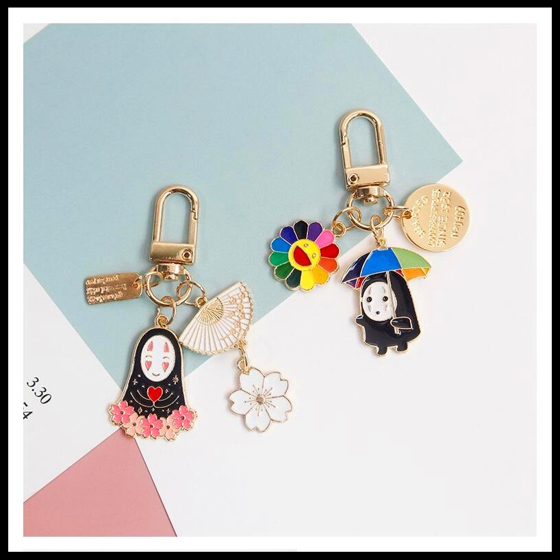Keyring Metal Pendant Bag Purse Car Key Chain Ring Fashion Personalized New