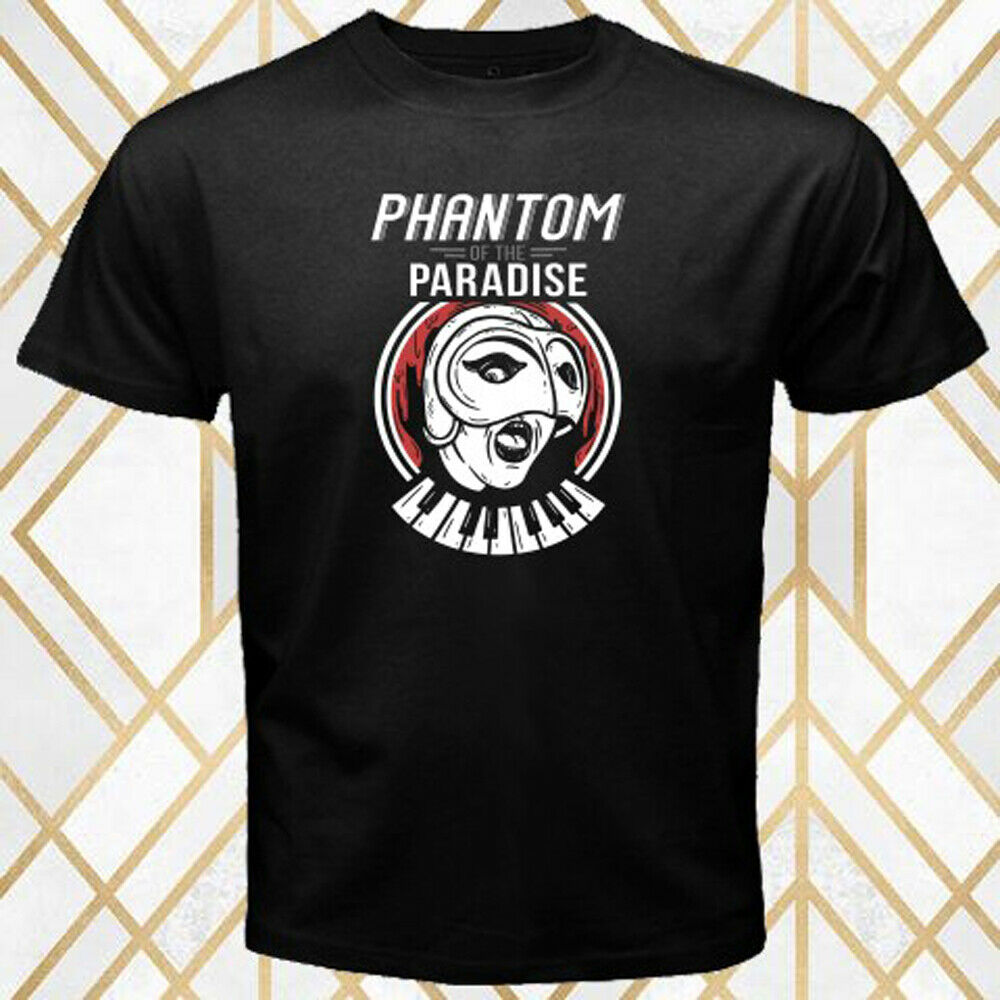 Phantom of the paradise comedy horror movie men's Black T-Shirt Size S - 3XL image