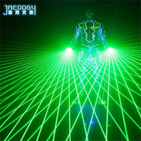 2020 New High Quality Green Laser Gloves Concert Bar Show Glowing Costumes Prop Party DJ Singer Dancing Lighted Gloves