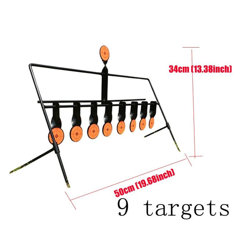 Alvo de metal para tiro 5 7