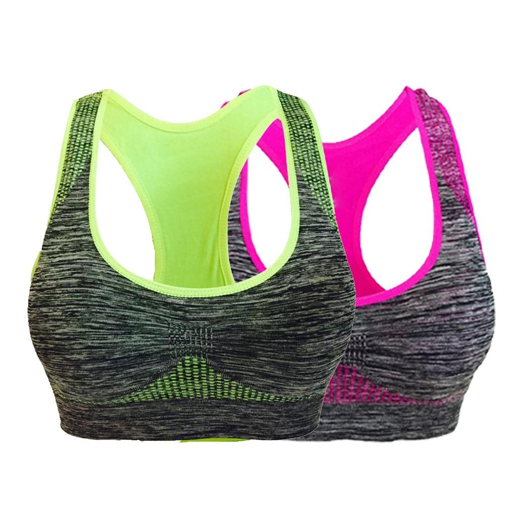 Frauen VICTORY Nahtlose Sport Bh High Impact Sport-Bh Fitness Bh Nahtlose Top Gym Frauen Active Wear