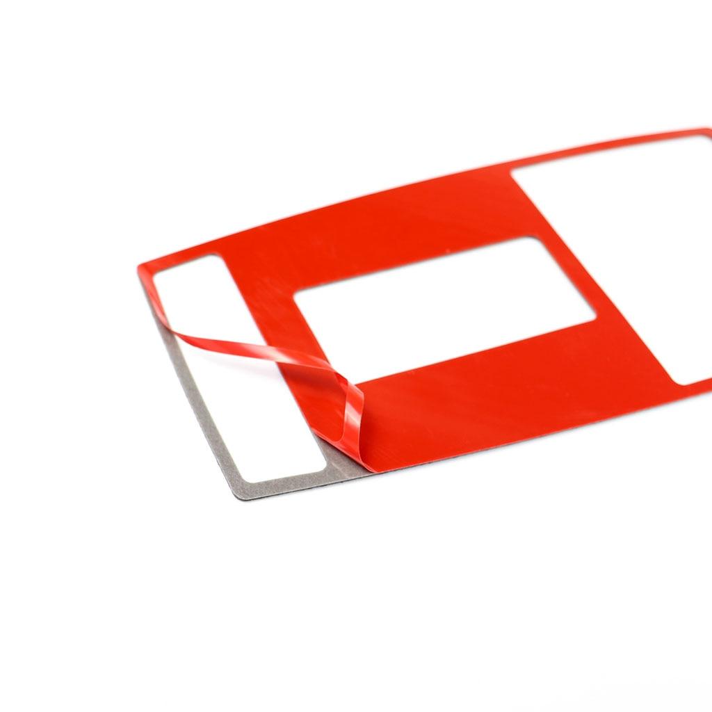 כורסאות טלויזיה עבור מרצדס בנץ W204 (07-13) W212 (10-12) Class C עם דבק משטח קריאה נורית בקרה הפנים מדבקה לרכב אביזרים (4)