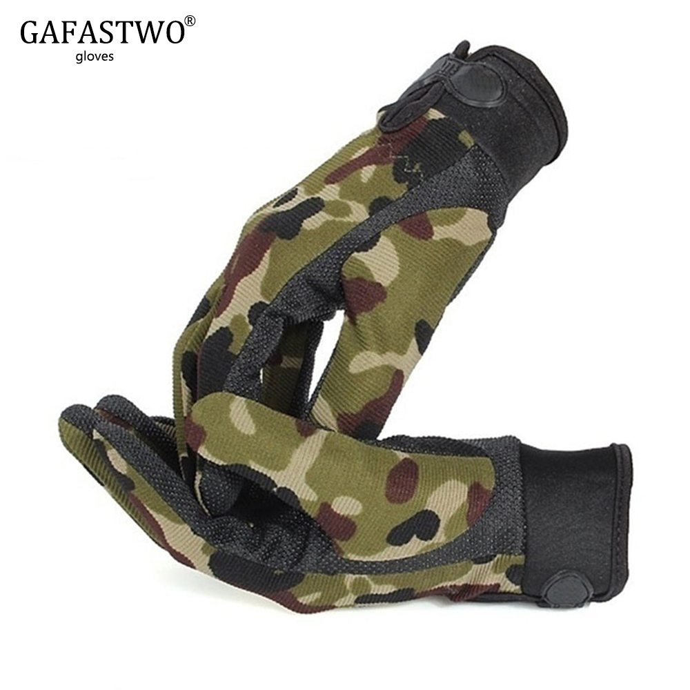 Mens Lightweight Breathable Tactical Gloves Riding Non-slip Wearable Full Finger And Half Finger Gloves