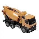 HUINA 1574 1:14 Liga Caminhão do Misturador Concreto Caminhão Engenharia de Controle Remoto Luz Veículo de Construção de Brinquedos para Crianças Presente - 4