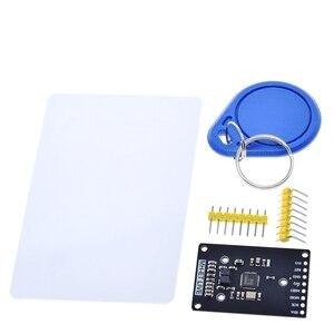 Image 3 - Module RFID RC522 mini Kits S50 13.56 Mhz 6cm avec étiquettes SPI écrire et lire pour arduino uno 2560