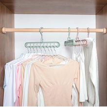 Scarf Hanger Storage-Rack Multi-Port Organizer Clothes Plastic 1PC Circle