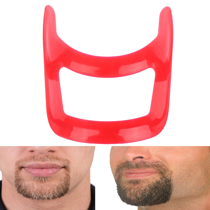 Fashion Shave Shaping Template Beard Style Comb Care Tool High Quality Mustache Beard Styling Template Tools For Men