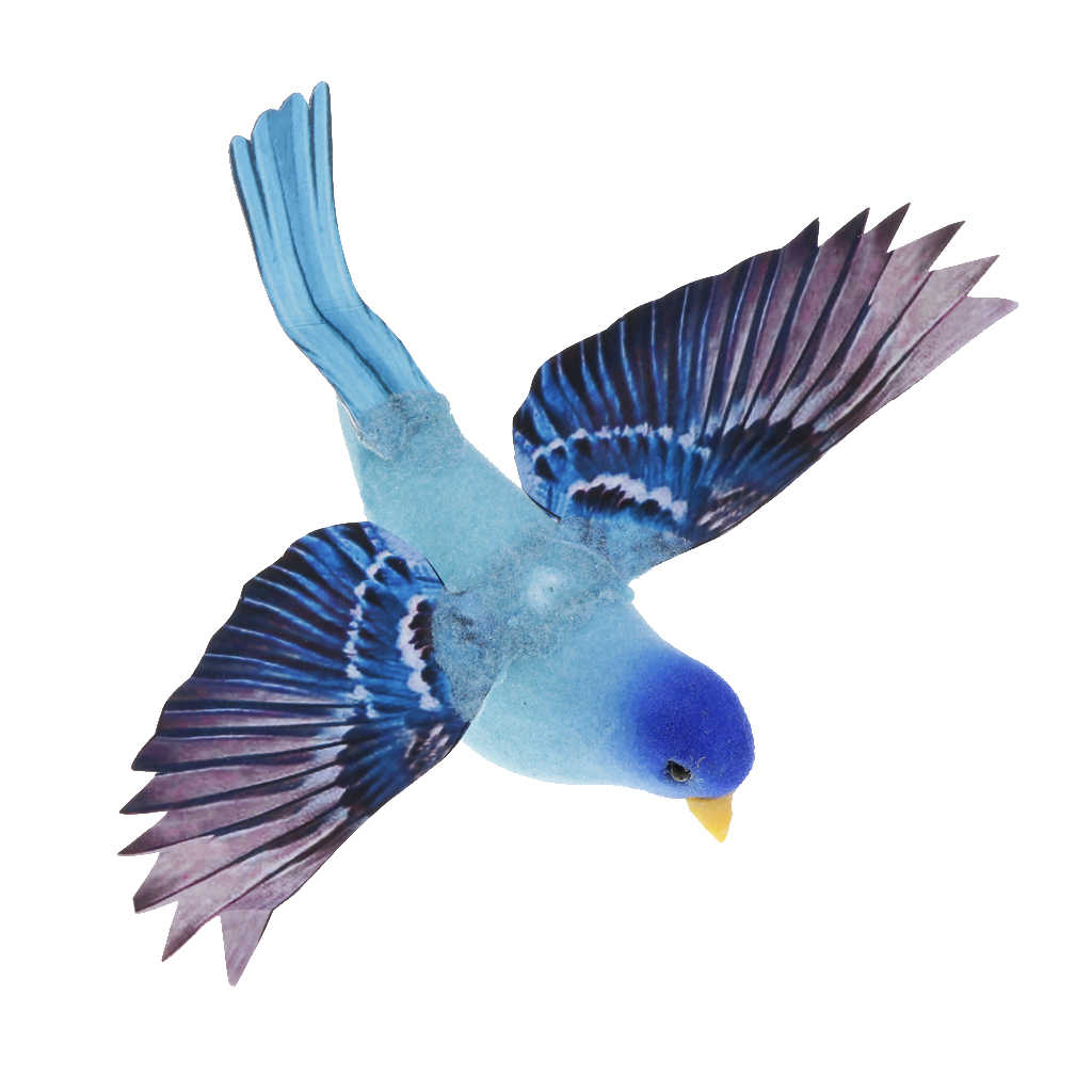 Colorful Decorative Birds Artificial Foam Feather Mini Birds Craft DIY Wedding Party Decorations Decor