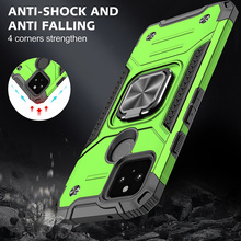 Drop resistance Military Rugged Case For Google Pixel 5 Armor Fall resistant impact Shock proof Shield Cover