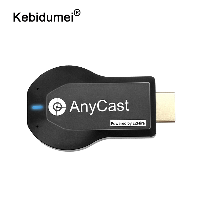 kebidumei Wireless Wifi Display TV Dongle Receiver 1080P HD HDMI TV Stick For AnyCast M2 Plus For Airplay For DLNA For Miracast