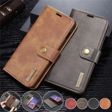 Кожаный чехол книжка для Samsung Galaxy S20 Ultra S10 S9 S8 Plus S7 Edge