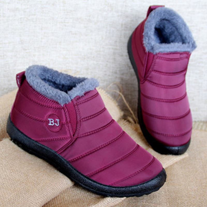 2019 Women Boots Winter Shoes Waterproof Snow Boots For Women Casual Shoes Winter Women Ankle Boots Female Botas Mujer Plus Size image