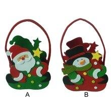 Конфеты сумки рождественские подарки для детей изысканные новогодние Санта-Клаус вечерние украшения дома рождественские товары
