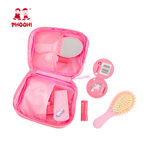 Image 5 - Girls Makeup Set Toy Wooden Cosmetics Toy Baby Pretend Play Simulation Beauty Fashion Toy For Kids PHOOHI