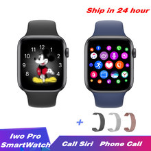 2020 IWO Pro Series 5 Smart Watch 44mm 40mm Heart Rate Bluetooth call Music Player For Apple IOS Android smartwatch PK IWO 12 8(China)