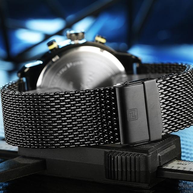 AVIFORCE NF9068S Fashion Casual Quartz Watch Men's Waterproof Sport Watche 6