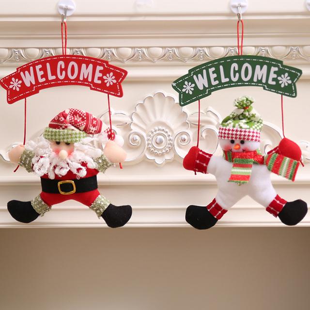 Christmas Welcome Door Hang (1pc)