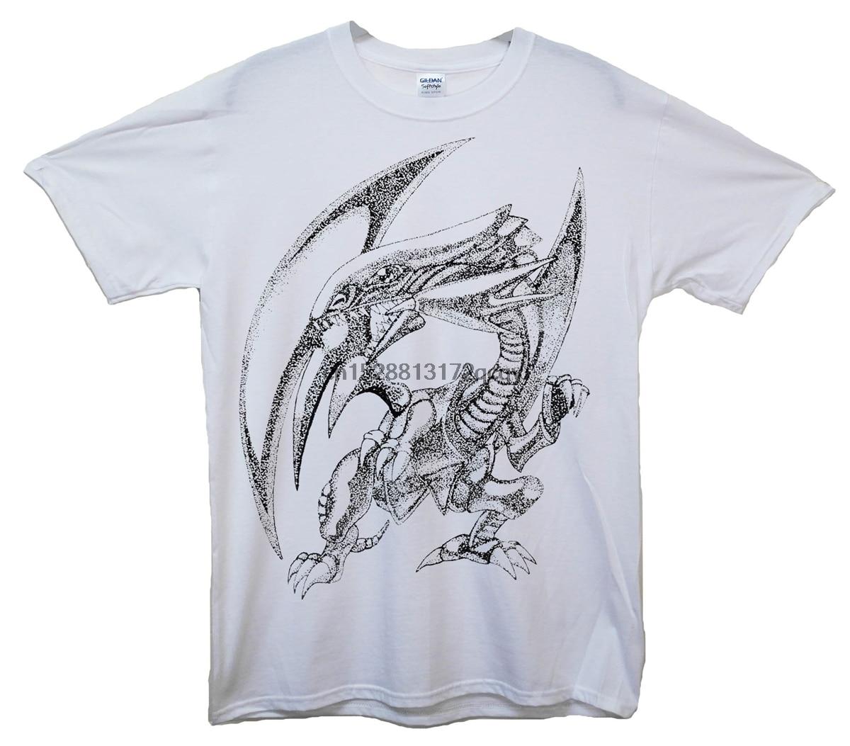 Anime Yu-Gi-Oh Yusaku Fujiki T Shirt Cos Gift Short T Shirt White color