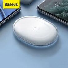 Baseus – Chargeur sans fil QI pour iPhone et Airpods Pro, charge rapide de téléphone, 15 W, texture en gelée