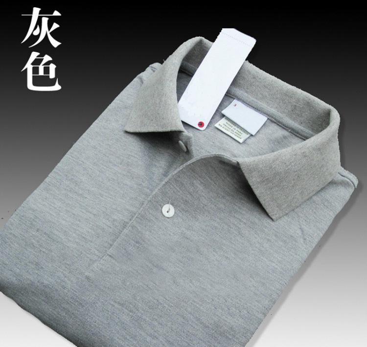 Мужская летняя рубашка поло, брендовая Модная хлопковая рубашка поло с коротким рукавом, мужские однотонные майки из дышащего ДжерсиПоло   -