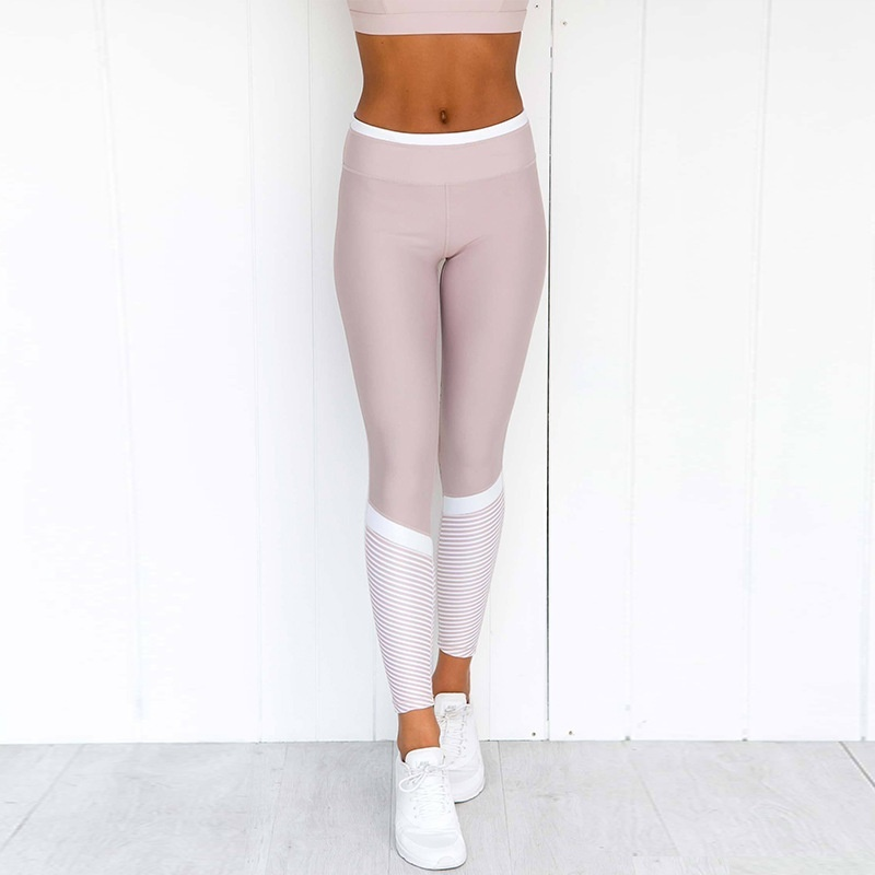 High Waist Sports Leggings Fitness Push Up Pants Women Tummy Control Running Workout Gym Seamless Leggings 2019 New