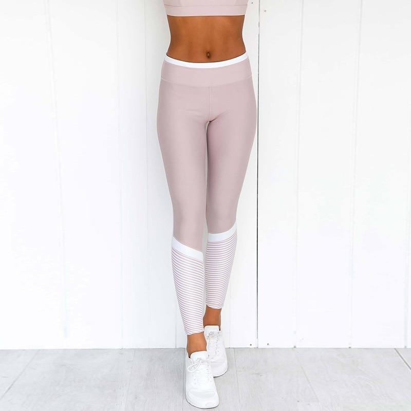 High Waist Sports Leggings Fitness Push Up Pants Women Tummy Control Running Workout Gym Seamless Leggings 2019 New