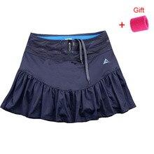 Женская теннисная Спортивная юбка, дышащая короткая юбка, быстросохнущая Спортивная юбка, юбка рыбий хвост, впитывающая, для бега, бадминтона, юбка-шорты