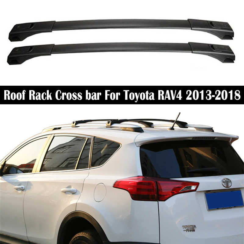 Toyota RAV4  MK4 2013 Present Aero Cross Bars Roof Rack Aluminium Spoiler