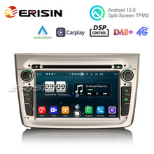 4G Radio Mito Carplay Android 10.0 Erisin Alfa Romeo Auto Dvd-Player for 8-Core DSP ES8730SM