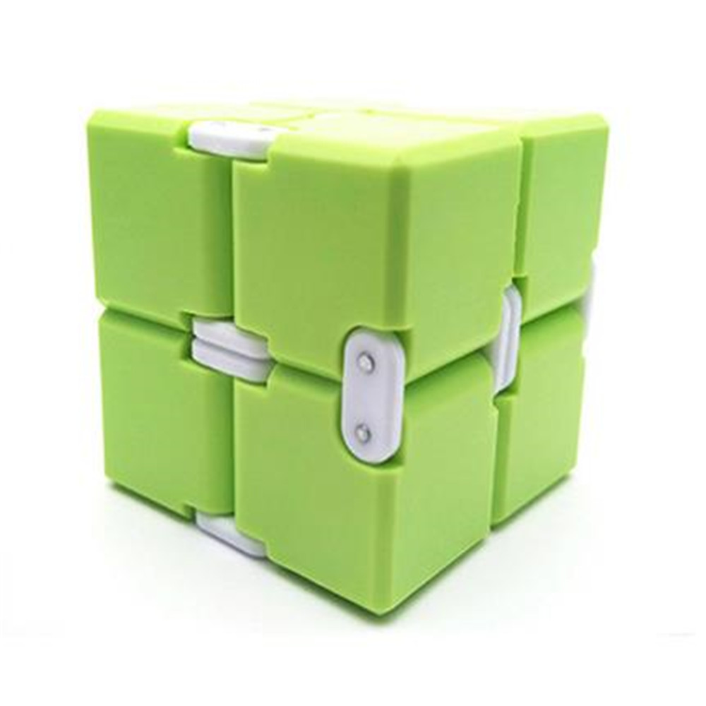 New Antistress Infinity Cube Magic Cube Stress Cube Office Flip Cubic Puzzle Stress Reliever Autism Toys Relax Toys for Children(China)
