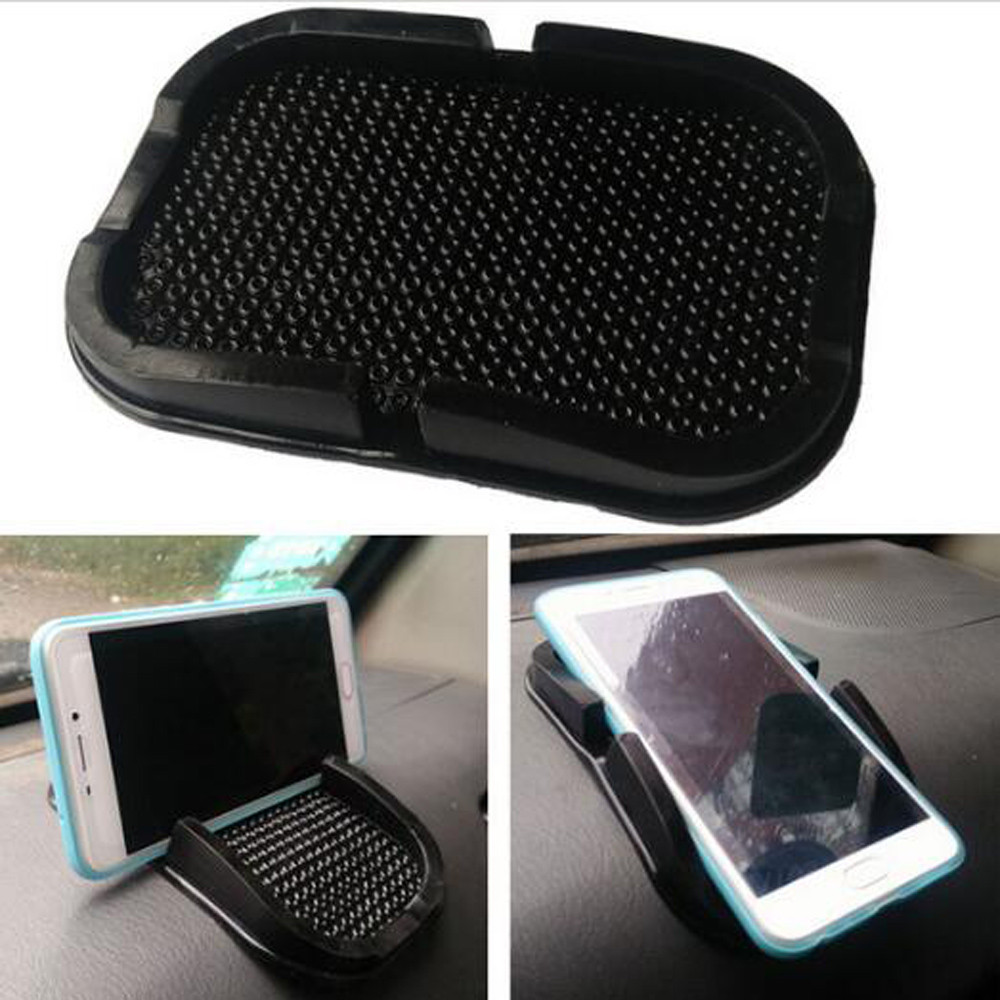 Car Dashboard Sticky Anti-Slip Mat Non-Slip Sticky Pad For Phone Sunglasses Holder Car Styling Interior Accessories  #H