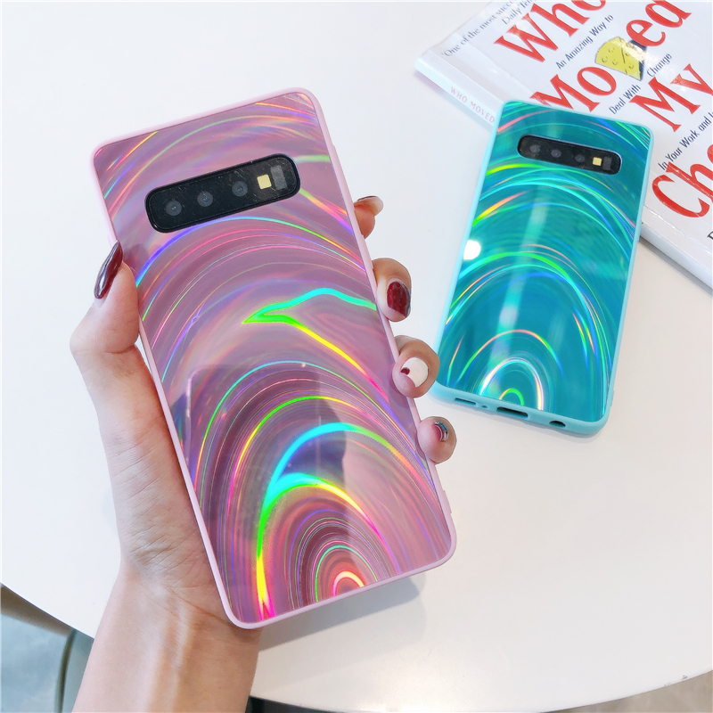 Glitter Case For <font><b>Samsung</b></font> Galaxy S20 Ultra S10 S9 S8 Plus Silicone Bumper Case <font><b>Cover</b></font> For <font><b>Samsung</b></font> A50 A51 A30S A71 <font><b>A10</b></font> A30 A20 A70 image