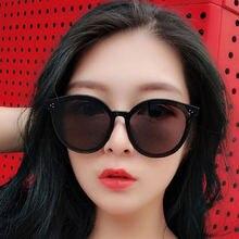 Солнечные очки в круглой оправе uv400 женские винтажные брендовые