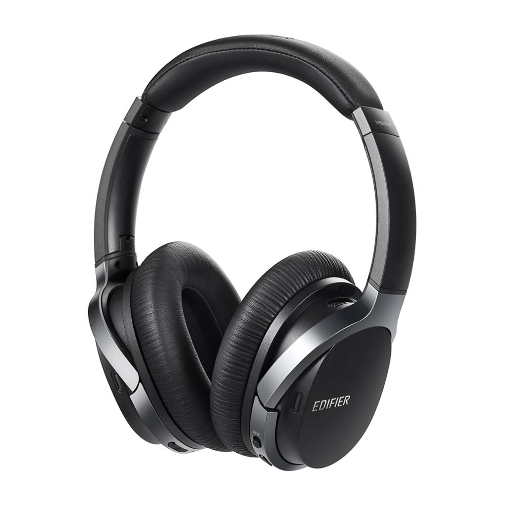 Edifier W860NB Active Noise Cancelling Over Ear Bluetooth aptX Headphones with Smart Touch