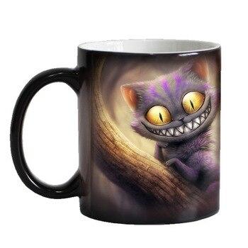 3D Cartoon Keramische Mok Magic Kleurverandering Kopjes Kantoor Koffie Mokken grappige Tumbler Kopjes en Mokken Theekopje Home