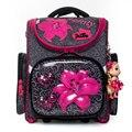 Delune/брендовые Детские Школьные сумки с животным принтом для детей  3D ортопедическая сумка  школьные рюкзаки в сложенном виде  Mochila Infantil  клас...