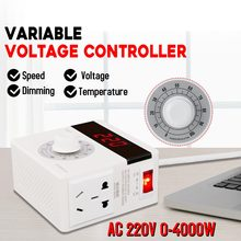 Motor-Speed-Controller 220V Motor-Regulator Power-Cord-Speed Stepless Bold Accurate 4000W