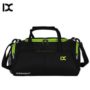 Training Gym Bags Fitness Travel Outdoor Sports Bag Handbags Shoulder Dry Wet shoes For Women Men Sac De Sport Duffel  XA77WA 1