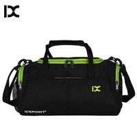 Szkolenia torby na siłownię Fitness podróży torba sportowa na zewnątrz torebki na ramię suche mokre buty dla kobiet mężczyzn Sac De Sport Duffel XA77WA w Torby gimnastyczne od Sport i rozrywka na