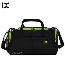 Szkolenia torby na siłownię Fitness podróży torba sportowa na zewnątrz torebki na ramię suche mokre buty dla kobiet mężczyzn Sac De Sport Duffel XA77WA