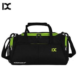 Image 1 - Training Gym Bags Fitness Travel Outdoor Sports Bag Handbags Shoulder Dry Wet shoes For Women Men Sac De Sport Duffel  XA77WA